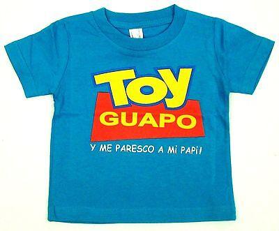 TOY BONITA Baby Infant T-shirt Funny Toy Story Parody Tee 6M,12M,18M,24M Pink