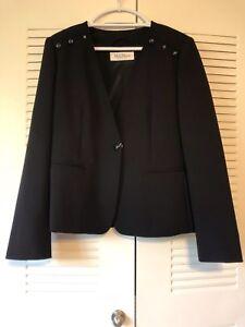 Authentic-MAX-MARA-Torre-Bi-stretch-Wool-Jacket-NWT