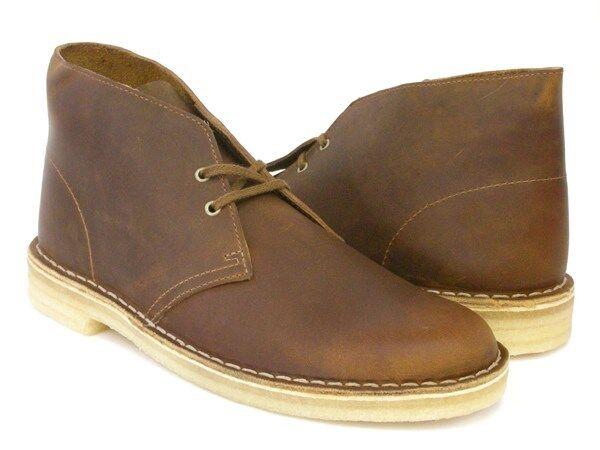 Men's Clarks Original Desert Boot Beeswax Leather 78358 ( 26106562 )