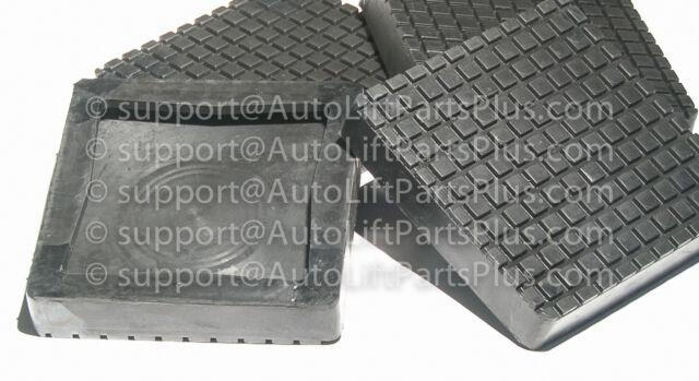 Rubber Arm Pads for Bend Pak Lift XPR10C XPR10AC XPR10CX XPR10ACX Set of 4