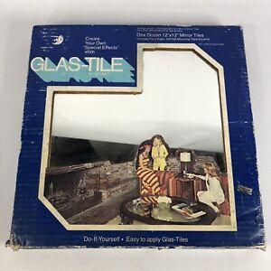 12 Vintage 12 X 12 inch Mirror Tiles Glas-Tile 1970s Hoyne ...