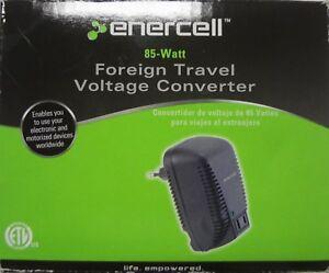 Enercell 273-361 85W Watt Foreign Travel Voltage Converter