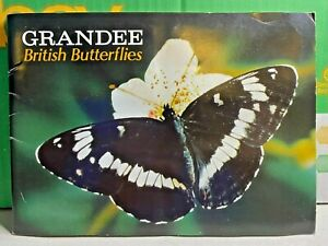 British Butterflies-Grandee-Cigarette Cards-1983-Special Album-Collectors Item