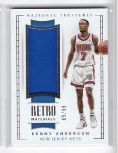 2017-18-Kenny-Anderson-99-Jersey-Panini-Natioanl-Treasures-Nets
