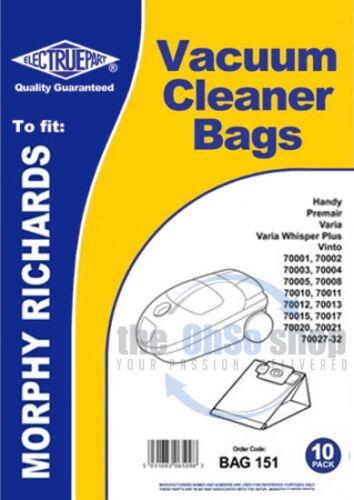 CV1400 10 x BLOMBERG Vacuum Cleaner Dust Bags CV1200