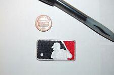 "2011 All Star Game 1 5/8"" Patch MLB Shield Logo Black/Red Baseball"