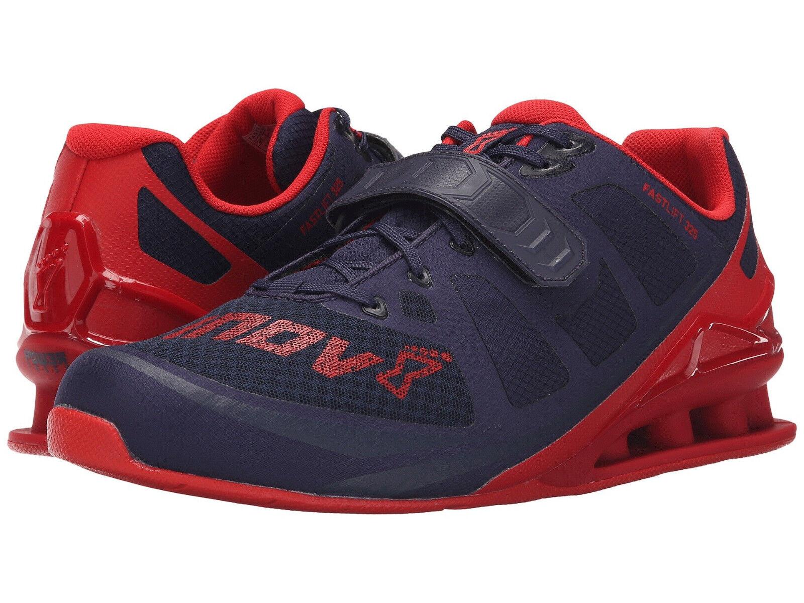 inov-8 hommes FastLift 325 US 14 M Navy Mesh Weightlifting Sneakers Chaussures 160.00