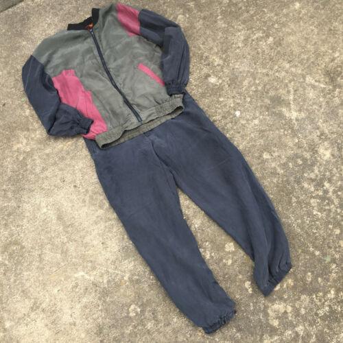 Vintage 80s 100 Silk B-Boy Break Dance Jumpsuit Co