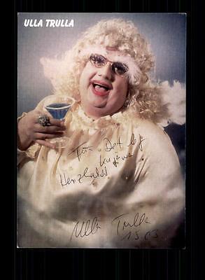 Autogramme & Autographen National Das Beste Ulla Trulla Autogrammkarte Original Signiert ## Bc 96247 Verkaufsrabatt 50-70%