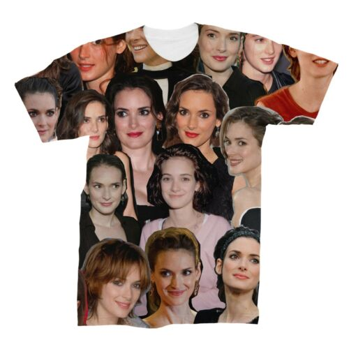 Winona Ryder Collage T-Shirt
