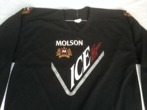 VTG MOLSON ICE BEER HOCKEY JERSEY 1994 CANADIAN BE