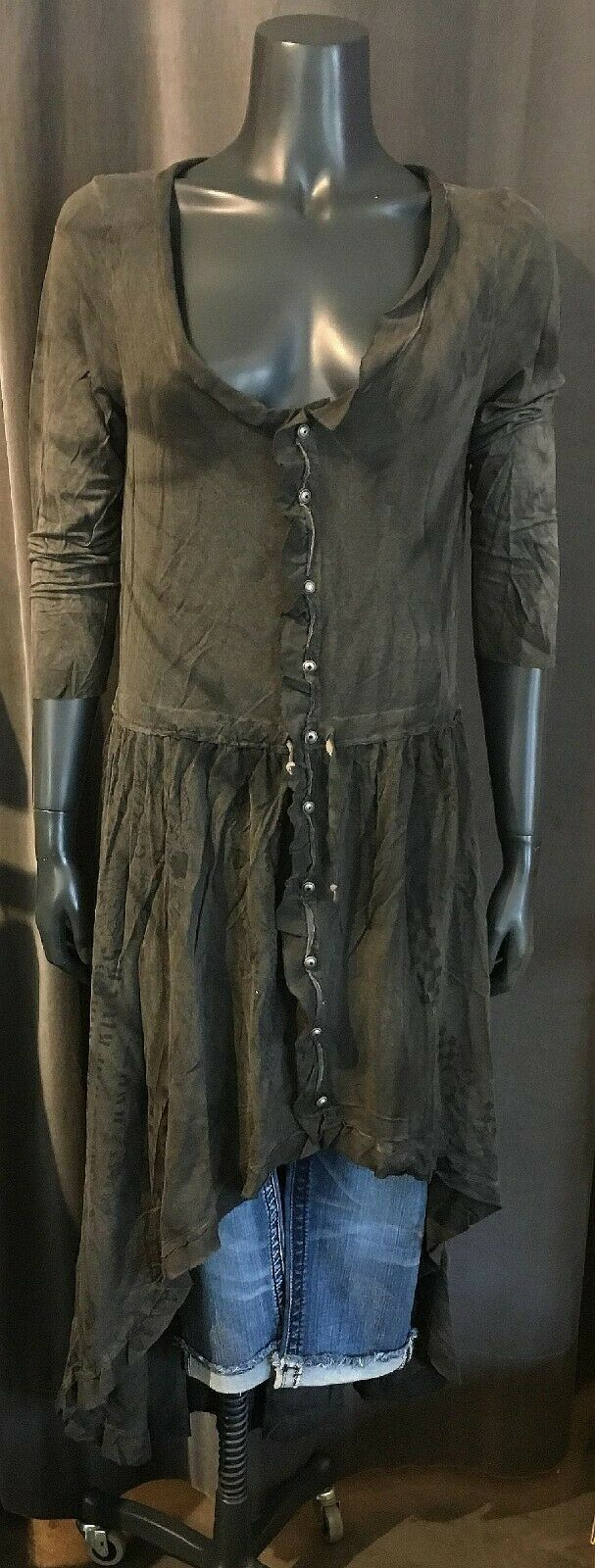 ORIGINAL RUDE RIDERS Damen  SHIRT Kleid  R03552 Rw109