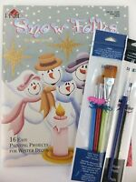 Snow Folks By Karen Embry Decorative Painting Book W Optional Brushes U Pick