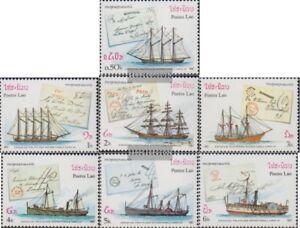 Laos-995-1001-kompl-Ausg-postfrisch-1987-Briefmarkenausstellung