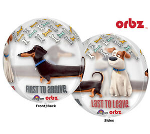 SECRET-LIFE-OF-PETS-BALLOON-16-034-ORBZ-ULTRASHAPE-BALLOON-WITH-DIFFERENT-IMAGES