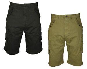 KAM-Mens-Shorts-Combat-Cargo-Chino-Cotton-Summer-Casual-Big-Tall-King-Size