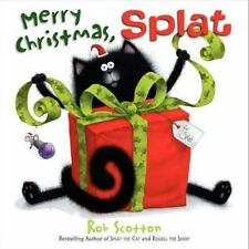 Merry Christmas, Splat by Rob Scotton (2013,hardcover)