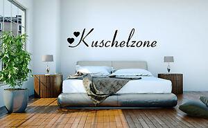 Kuschelzone Wandtattoo Wand-Tattoo Schlafzimmer Kinderzimmer Deko ...