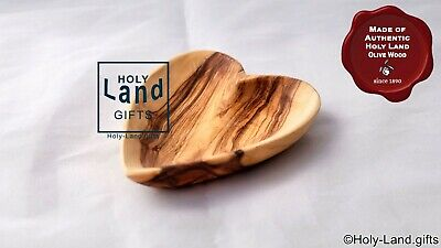"""Olive Wood Vintage Dish Bowl Nuts plate Tapas 7-10/"""" //18-26 Cm Hand Made"""