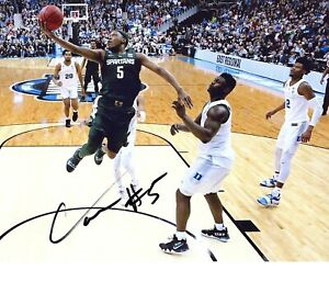 Cassius-Winston-Michigan-State-Spartans-autographed-signed-8x10-photo-DUKE-WIN