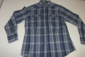 TIN-HAUL-Women-s-Pearl-Snap-Shirt-L-Large-Western-100-Cotton-FREE-SHIPPING