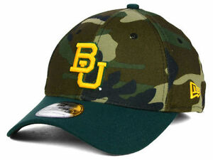 hot sale online 27dbb 1961b Image is loading BAYLOR-BEARS-League-Classic-Camo-New-Era-39Thirty-