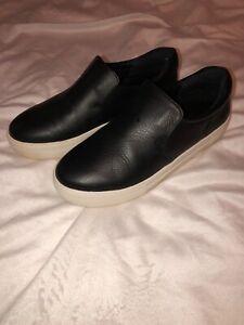 j slides attire leather slip on