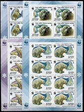 Sowjetunion Russland Russia 1987 WWF Eisbären Polar Bears 5694-97 KB Postfrisch