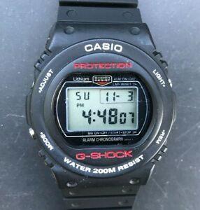RARE 1985 CASIO G Shock DW 5400 (240) 1st Génération ronde  MCmpN
