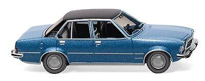 1:87 /_NEU//OVP Wiking 079604 Opel Commodore B laserblau metallic