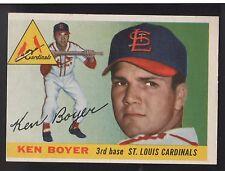 1955 Topps #125 Ken Boyer St. Louis Cardinals Rookie Baseball Card Nm/Mt Oc