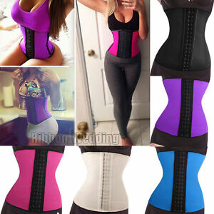 ffdecb5c7c8 Image is loading Top-Quality-Latex-Rubber-Corset-Sport-Waist-Trainer-