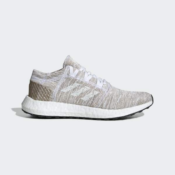 Adidas Pure Boost Go Primeknit Womens Copper White Trainers Size UK 5 EU 38 Gym