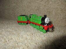 Thomas & Friends Take-n-Play Henry & Tender Engine Train 3 Green 2009 Mattel