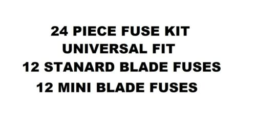 VOLVO S70 97-00 CAR BLADE FUSE REPLACEMENT KIT 5 10 15 20 25 30 AMP