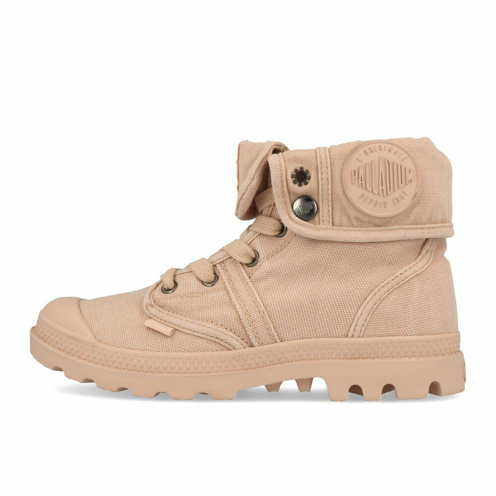 Palladium Pallabrouse Baggy Wmns Rose Dust Silver Birch Schuhe Stiefel Stiefel