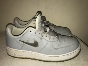 best website be9a1 14eba Image is loading Nike-034-Air-Force-One-034-Wolf-Grey-