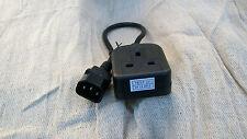 IEC C14 enchufe al Reino Unido, 13, parte de un socket 10a Adaptador entrega 25cm Marca CE Approved