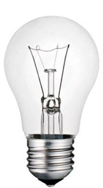 10 ampoules á incandesence 75w E27 claires Philips