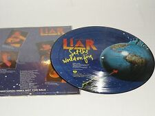 LIAR Set The World On Fire Vinyl LP Picture Disc 1978 Bearsville Hard Rock