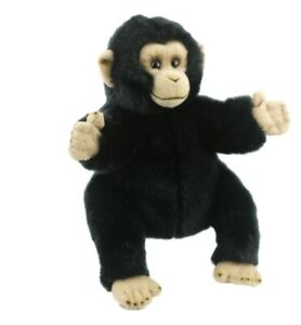 Monkey-Hand-Puppet-soft-plush-toy-10-034-25cm-By-LELLY-National-Geographic-NEW