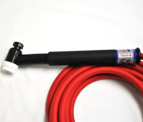 Flex 150A CK17 Air Cooled TIG Torch Kit 1-Pc Super-Flex 12.5/'