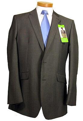 Ausdauernd Limehaus Designer Men's Formal Casual Light Grey Suit Smart Jacket Bnwt 42l