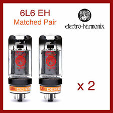 Electro-Harmonix 6L6 EH Power Vacuum Tubes - Matched Pair - 2 Pieces