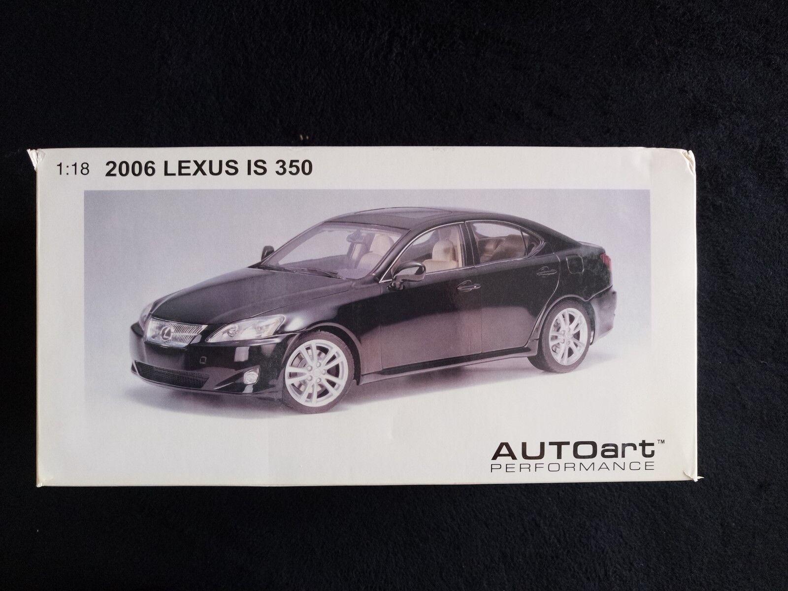 AUTOart 1 18 1 18 2006 Lexus IS 350 noir-Neuf dans la boîte