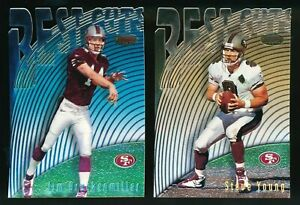 1997-Bowman-039-s-Best-Cuts-San-Francisco-49ers-Lot-Steve-Young-Jim-Druckenmiller-RC