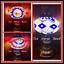 Turkish-Lamp-Mosaic-Multi-Colour-MEDIUM-SIZE-Brass-Plated-Stand-FREE-LED-Bulb thumbnail 1