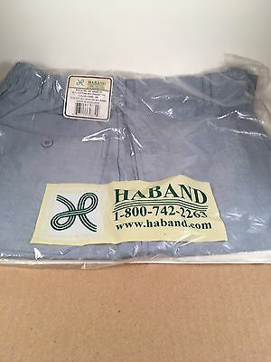 Haband Size 12 Average Sky Blue Shorts Elastic Waist | eBay