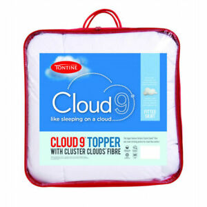 Tontine-Cloud-9-Mattress-Topper-With-Cluster-Clouds-Fibre-KING-amp-QUEEN-Size