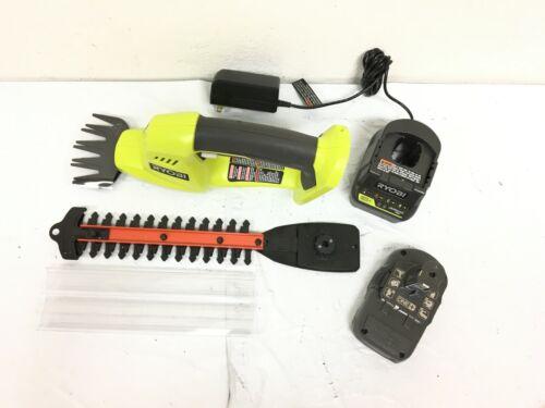 Ryobi P2910 Grass Shear Shrubber Trimmer Cordless 18V Compact Garden Kit BN210